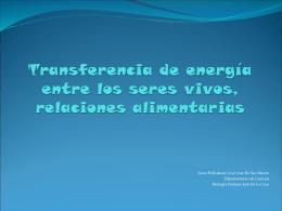 Capitulo 4 Ecosistemas energia y nutrientes