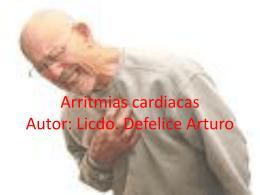 Arritmias cardiacas - Polytechnic of Namibia