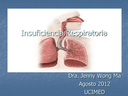Insuficiencia Respiratoria en el Adulto