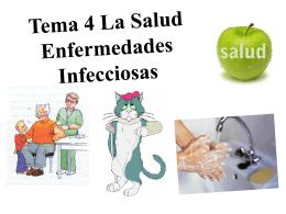 Tema 4 La Salud