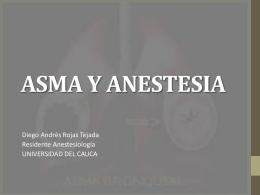 ASMA Y ANESTESIA
