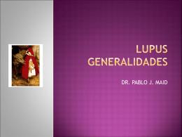 Lupus Generalidades