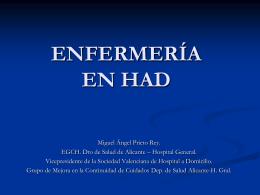 ENFERMERA GESTORA DE CASOS HOSPITALARIA (EGCH)