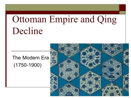 Ottoman Empire - Central Kitsap High School