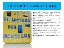 LA BIBLIOTECA DEL NAUTILUS