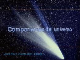 El universo y sus componentes