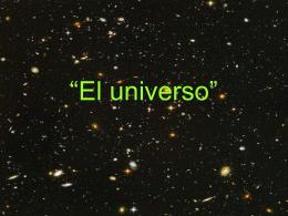 """El universo"""""""