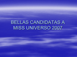 MISS UNIVERSO 2006