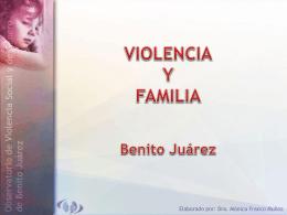 VIOLENCIA INTRAFAMILIAR Y CONTRA LOS MENORES