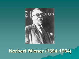 Norbert Wiener (1894