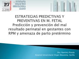 ESTRATEGIAS PREDICTIVAS Y PREVENTIVAS EN M. FETAL