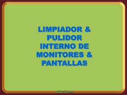 limpia monitores