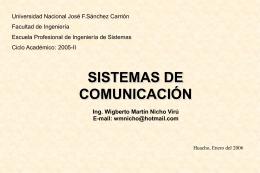 Sistema de Comunicacion