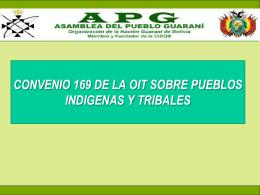 CONVENIO 169 DE LA OIT SOBRE PUEBLOS INDIGENAS Y …