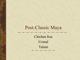 Chichen Itza - SUNY Oneonta