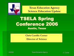 TEA Update Spring 2006