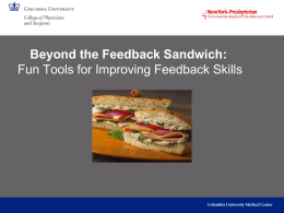 Beyond the Feedback Sandwich