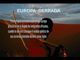 Europa cerrada - Holismo Planetario en la Web | El Portal