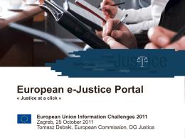 e-Justice Portal