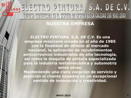 Diapositiva 1 - ELECTRO PINTURA