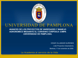 Diapositiva 1 - Universidad de Pamplona