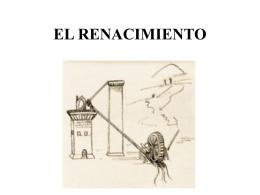 EL RENACIMIENTO - General | Universidad de Congreso