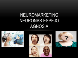 Neuromarketing Neuronas Espejo Agnosia