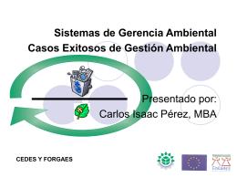 Sistemas de Gerencia Ambiental Una Herramienta …