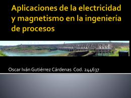 Aplicaciones de la electricidad y magnetismo en la