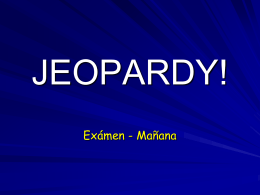 JEOPARDY - Plainview-Old Bethpage Central School …