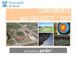 CAMPAMENTO MULTIDEPORTE ' 2007