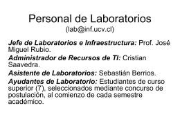Laboratorios de Computadores
