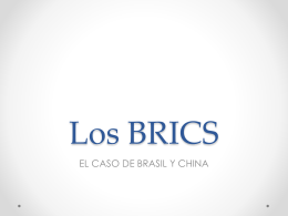 Los BRICS - RED ALC