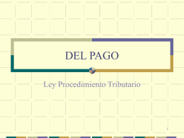 DEL PAGO