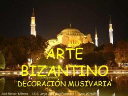 Arte Bizantino. Mosaico