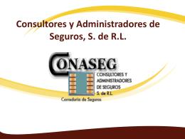 Consultores y Administradores de Seguros, S. de R.L.