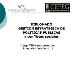 POLITICAS DE DESARROLLO E INCLUSION SOCIAL: SOCIO