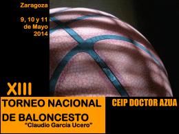 Zaragoza 10, 11 y 12 de Mayo 2013
