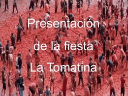 PresentationLa Tomatina