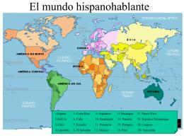 El mundo hispanohablante