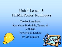 Unit 4 Lesson 3