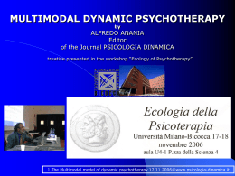MULTIMODAL DYNAMIC PSYCHOTHERAPY