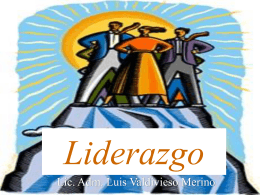 Liderazgo - Luis Valdivieso