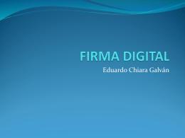 FIRMA DIGITAL - escuela de desarrollo integral de la persona
