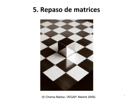 5. Repaso de matrices