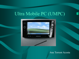 Ultra Mobile PC (UMPC)