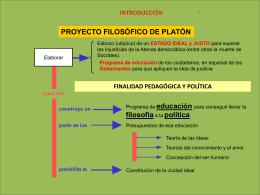 Presentacion general de Platon