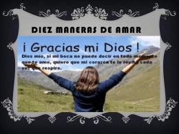 DIEZ MANERAS DE AMAR