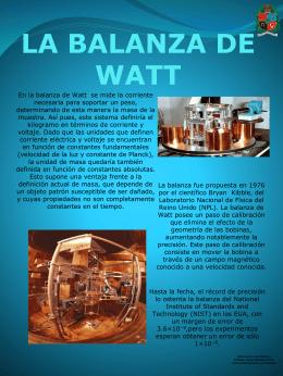 LA BALANZA DE WATT - fisica1000017