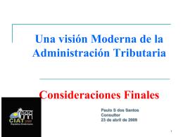 Temas de Politica y Administracion Tributaria